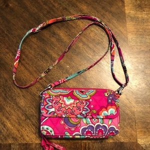 Vera Bradley Crossbody Wallet purse